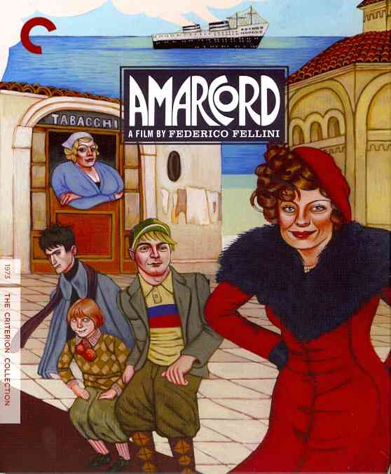 AMARCORD BY FELLINI,FEDERICO (Blu-Ray)